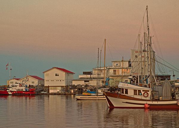 Fishing Boat Photograph - Twilight by Randy Hall