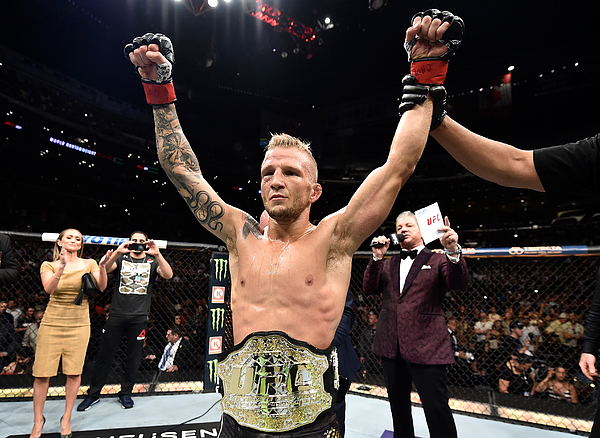Ufc 227: Dillashaw V Garbrandt 2 Photograph by Jeff Bottari
