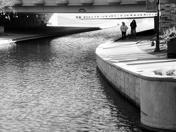 Expressive Photograph - Under The Main Street Bridge by Lenore Senior