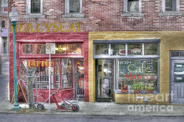 Urban Photograph - Urban Mercyseat Oil Painting by Liane Wright