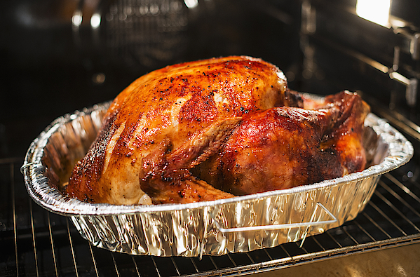 Usa, New York State, Roast Turkey Photograph by Tetra Images