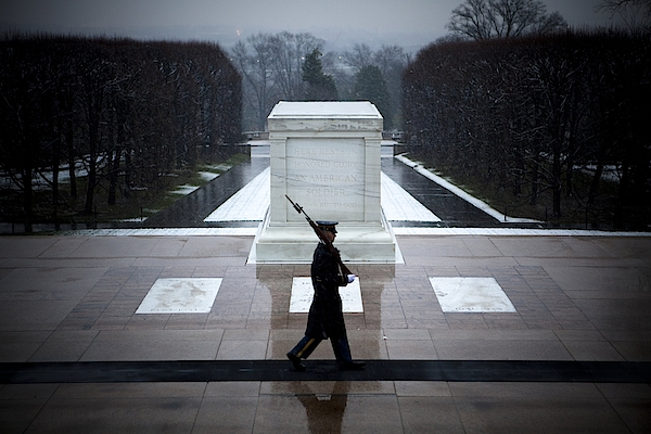 Va: Tomb Of The Unknown Soldier Photograph by Jeff Hutchens