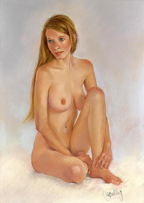 Valentine Painting - Valentine by Margaret Merry