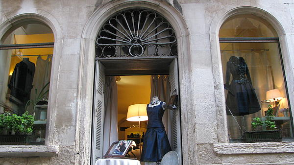 Venetian Boutique  Photograph by Suzy  Godefroy