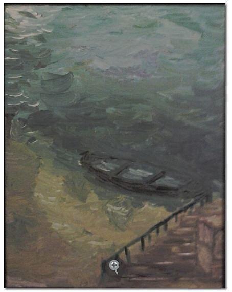Vidorija 92 Painting by Ferid Sefer