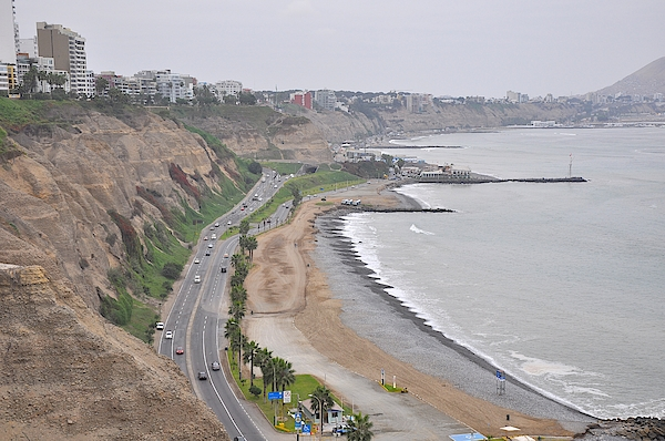 View At The Beach And The Circuito De Playas Photograph by Markus Daniel