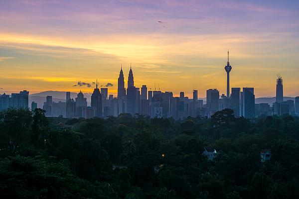 View Of Cityscape Against Sky During Sunset Photograph by Shaifulzamri Masri / EyeEm
