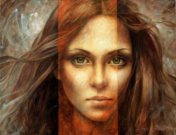 Portrait Painting - View Of Eternity by Arthur Braginsky