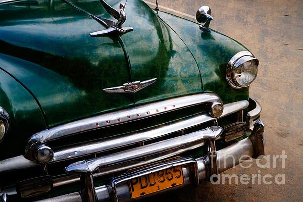 Kuba Photograph - Vintage Chevi by Juergen Klust