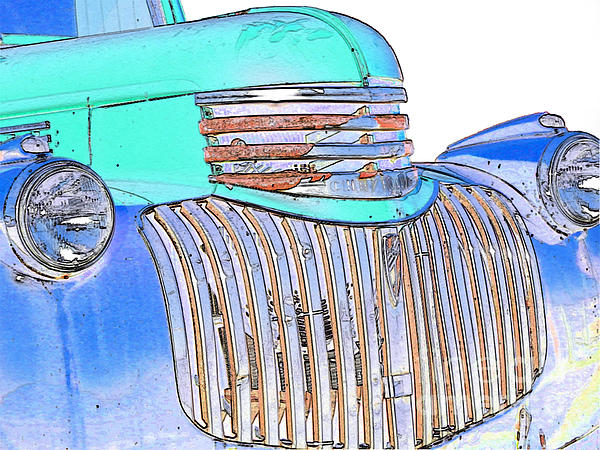 Chevrolet Photograph - Vintage Chevrolet Pickup 3 by Betty LaRue