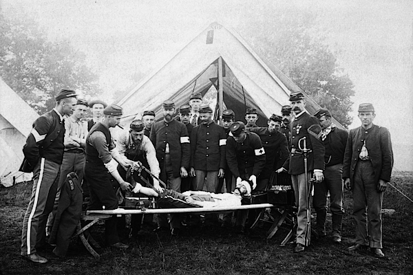 Vintage Image Of Civil War Reenactment Photograph by Thinkstock Images