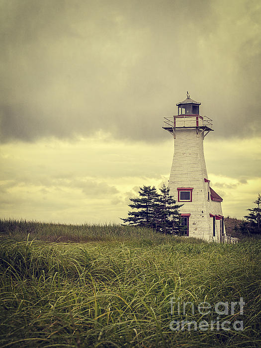Prince Photograph - Vintage Lighthouse Pei by Edward Fielding