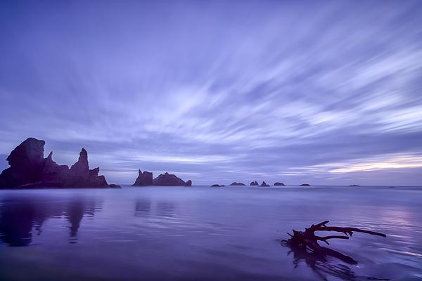 Purple Photograph - Violet Vista by Jon Glaser