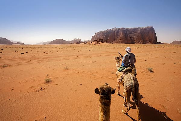 Wadi Rum Desert, Jordan Photograph by Syolacan