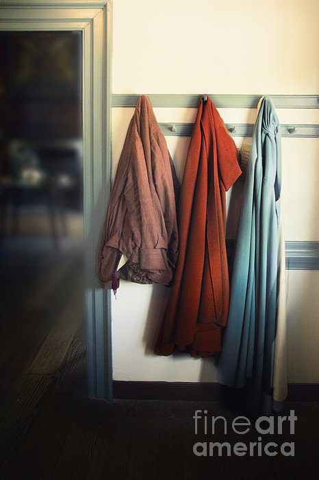 Female Photograph - Waiting To Go Out by Margie Hurwich