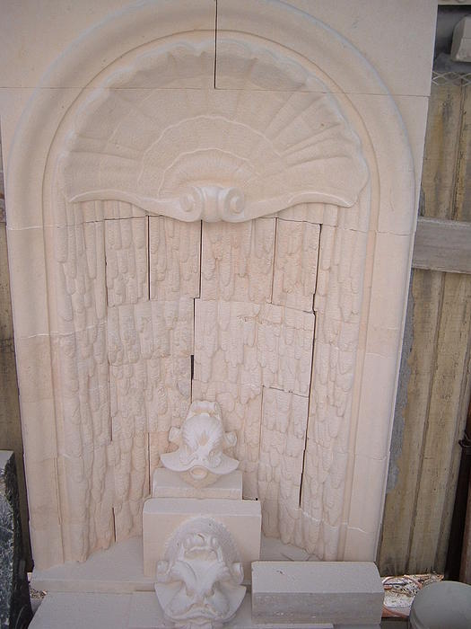 Wall Fountain Relief by Memo Memovic