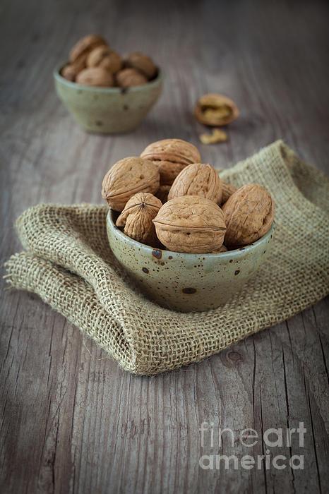 Autumn Photograph - Walnut by Sabino Parente