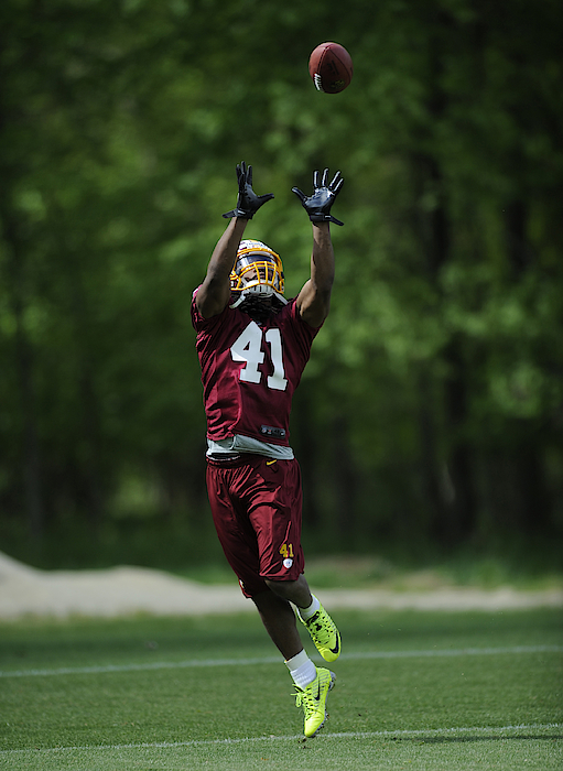 Washington Redskins Rookie Camp Photograph by Nick Wass