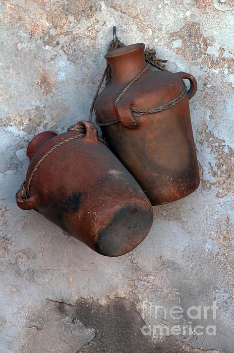 Bottle Photograph - Water Bottles by Dan Holm