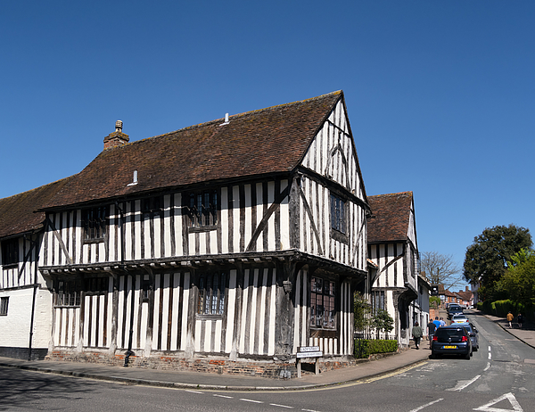 Water Street And Lady Lane In Lavenham, Suffolk Photograph by Whitemay