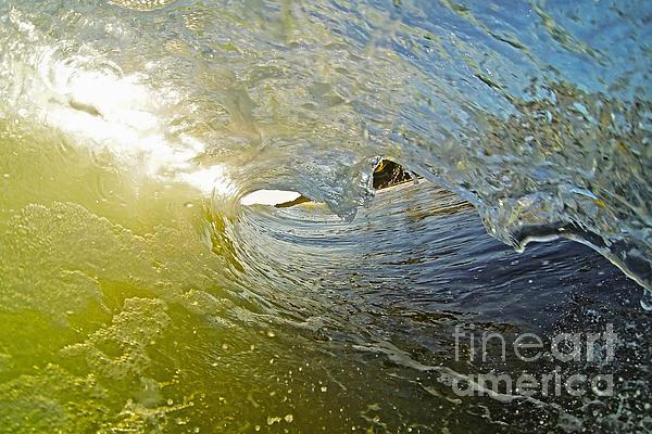 Santa Cruz Photograph - Wave Cave by Paul Topp