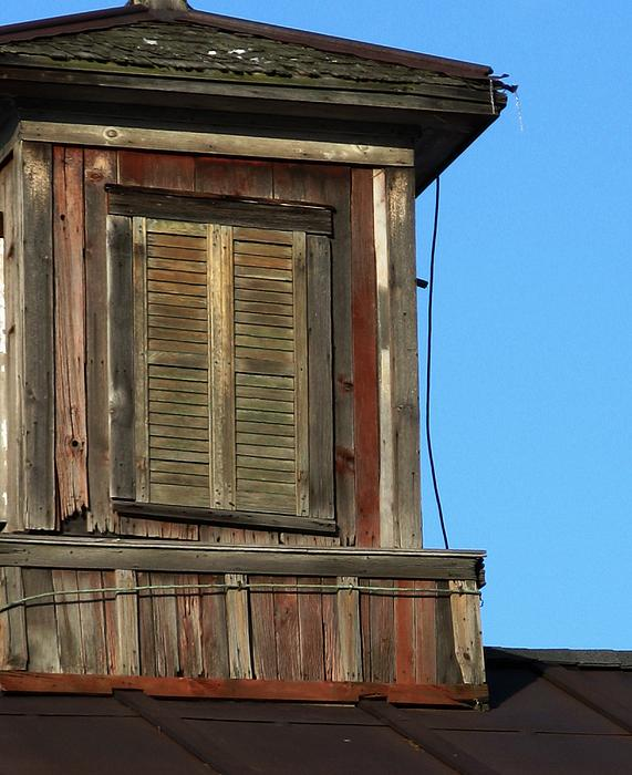 Weathered Photograph - Weathered Cupola by Debbie Finley