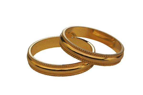 Wedding Bands Photograph by Comstock