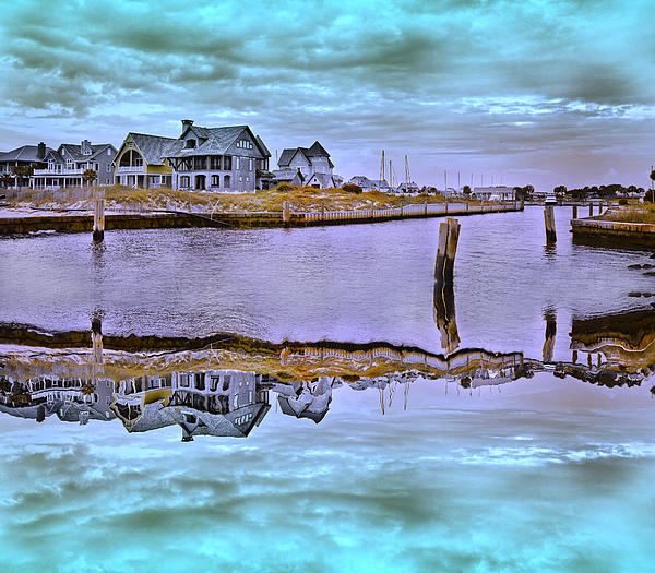 Bald Photograph - Welcome To Bald Head Island II by Betsy Knapp