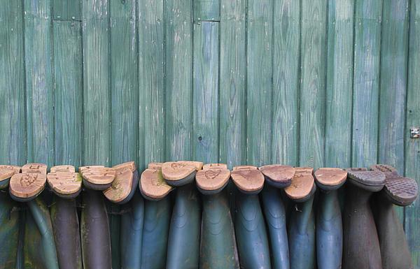 Footwear Photograph - Wellies by Brendan Quinn
