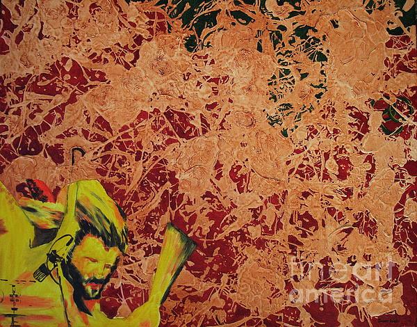 John Bohnam Painting - When The Levee Broke by Stuart Engel