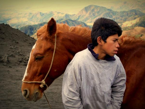 Boy Photograph - Where The Winds Carry Me by Ramon Fernandez