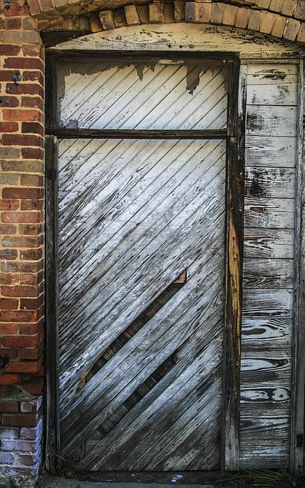 Door Photograph - White Door by Steven  Taylor