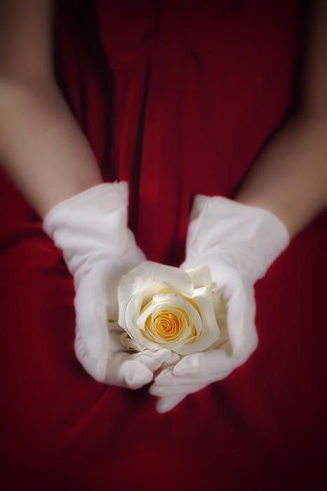 Woman Photograph - White Rose by Joana Kruse