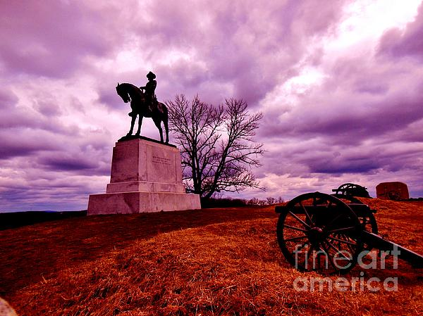 Gettysburg Photograph - Wicked Remnants by Sharon Costa