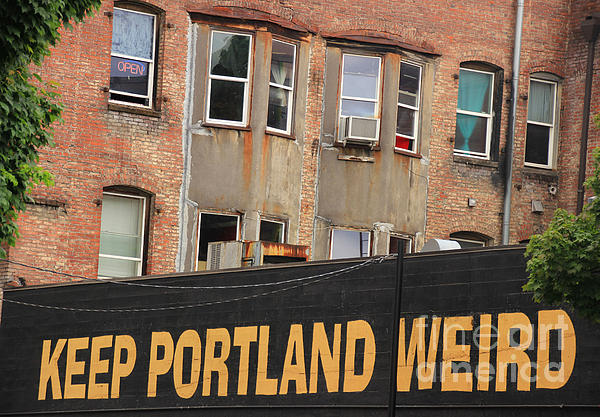 Portland Photograph - Weird And Wonderful Portland by Kris Hiemstra