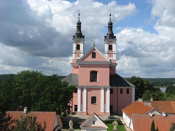 Cloister Photograph - Wigry Camedule Church by Agata Suchocka-Wachowska