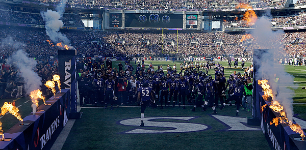 Wild Card Playoffs - Indianapolis Colts V Baltimore Ravens Photograph by Pool