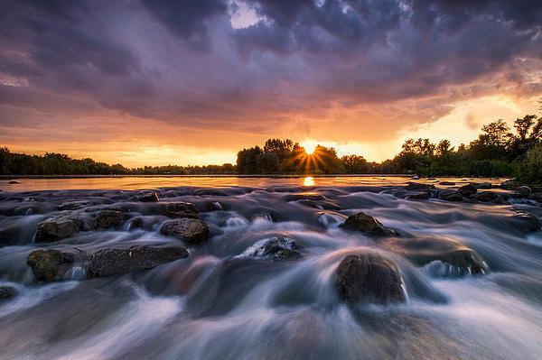 Landscape Photograph - Wild River II by Davorin Mance