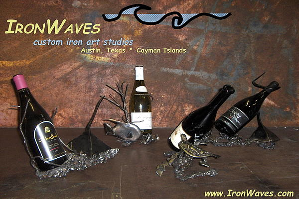 Brochure Sculpture - Wine Caddys by Mark Ansier