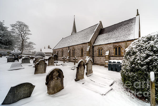 Architecture Photograph - Winter At St Paul by Adrian Evans