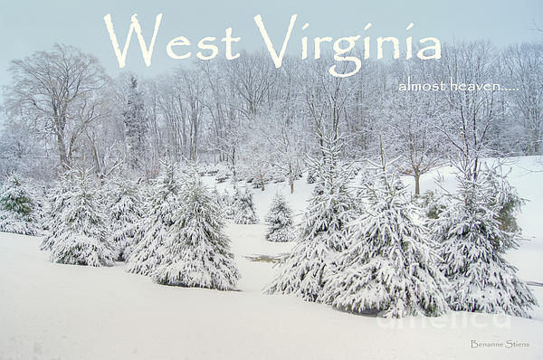 West Virginia Photograph - Winter In West Virginia by Benanne Stiens