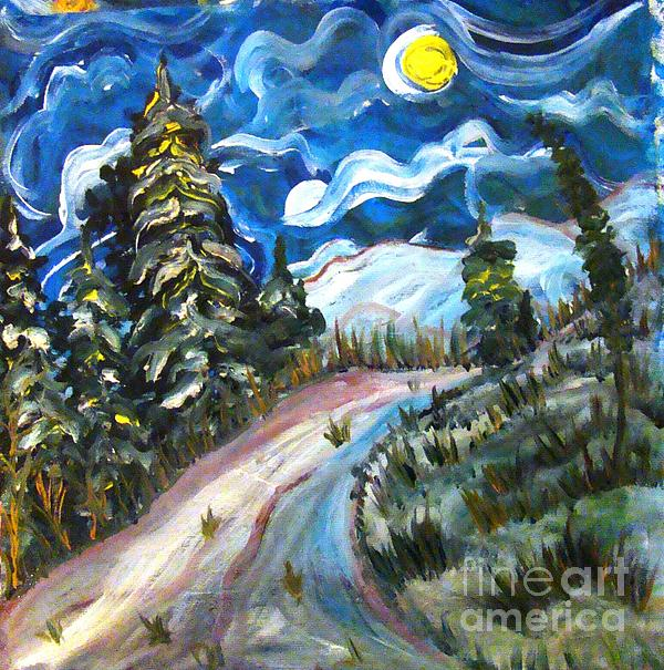 Winter Morning Painting by Sonali Singh