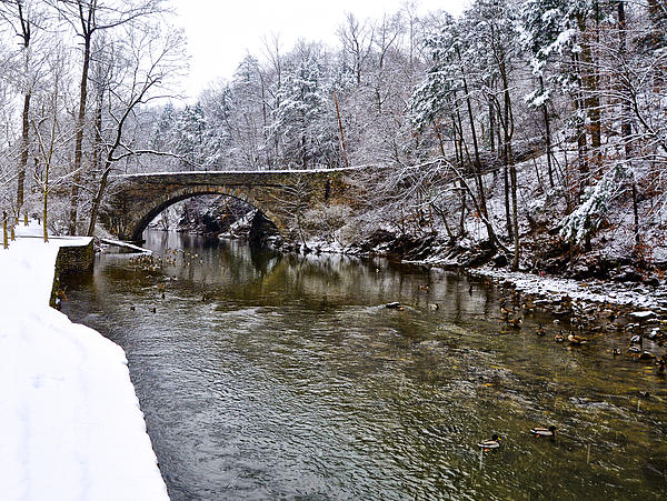 Winter Photograph - Winter Scene At Valley Green by Bill Cannon