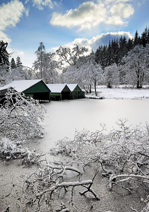 Loch Ard Photograph - Winter Wonderland by Grant Glendinning