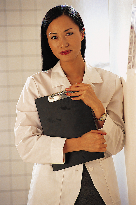 Woman Healthcare Professional Photograph by Comstock
