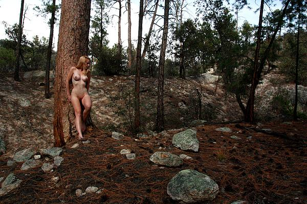 Woman Photograph - Wood Nymph by Joe Kozlowski