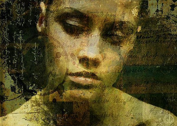 Woman Digital Art - Words Are Just Words by Gun Legler