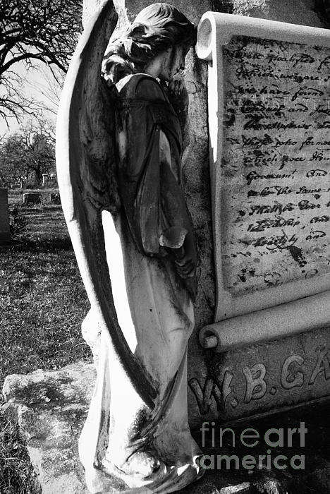 Angel Photograph - Words Not Spoken by Sonja Quintero