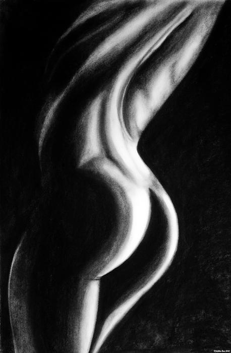 x Drawing by Mallika Rao