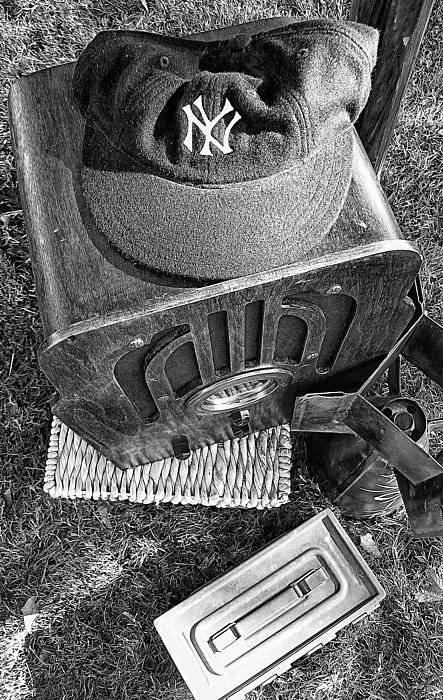 New York Photograph - Yankee Cap by Ron Regalado